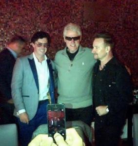 Bono e Clinton, Dublin